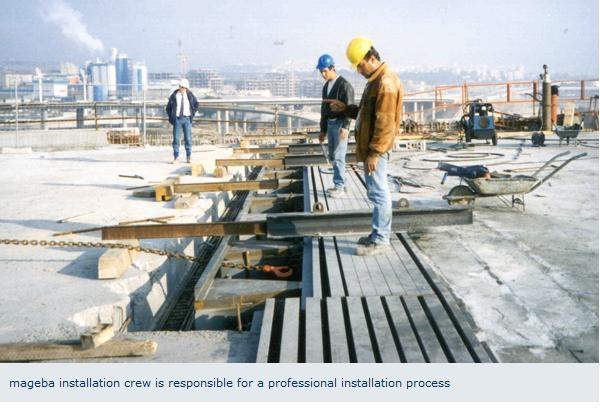 Profile de dilatatie pentru poduri, drumuri MAGEBA - Poza 4