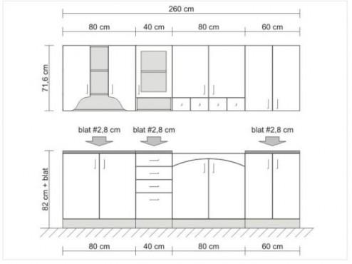 Exemple de utilizare Mobilier bucatarii la comanda BLACK RED WHITE - Poza 3