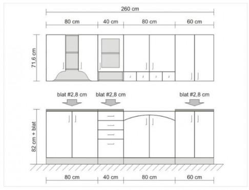 Exemple de utilizare Mobilier bucatarii la comanda BLACK RED WHITE - Poza 6
