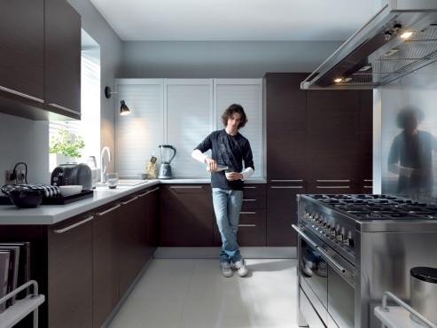 Exemple de utilizare Mobilier bucatarii la comanda BLACK RED WHITE - Poza 10