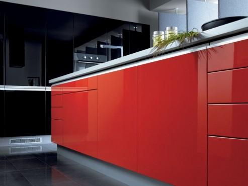Exemple de utilizare Mobilier bucatarii la comanda BLACK RED WHITE - Poza 7