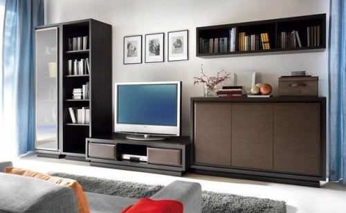 Mobilier living BLACK RED WHITE - Poza 3