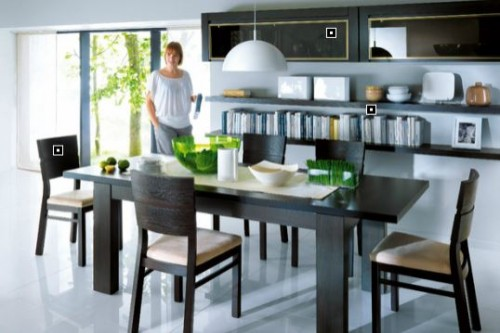 Exemple de utilizare Mobilier living BLACK RED WHITE - Poza 6