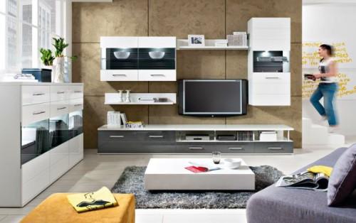 Exemple de utilizare Mobilier living BLACK RED WHITE - Poza 1