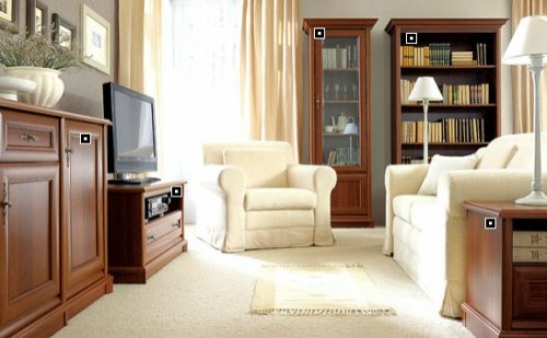 Exemple de utilizare Mobilier living BLACK RED WHITE - Poza 2