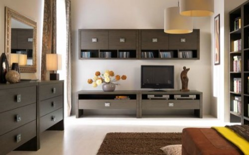 Exemple de utilizare Mobilier living BLACK RED WHITE - Poza 1