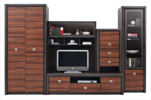 Mobilier living BLACK RED WHITE - Poza 1