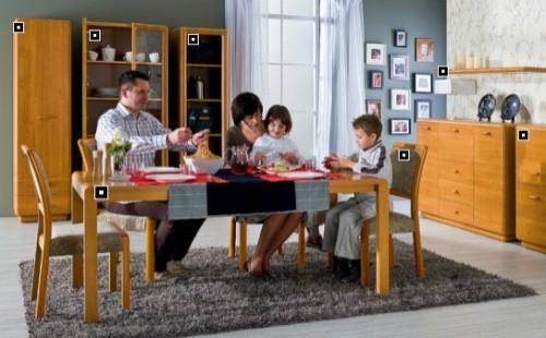Mobilier living BLACK RED WHITE - Poza 6