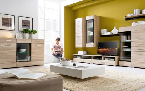 Exemple de utilizare Mobilier living BLACK RED WHITE - Poza 2