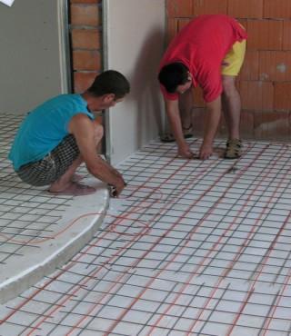 Lucrari, proiecte Cablu ADSV-Incalzire in pardoseala FENIX - Poza 1