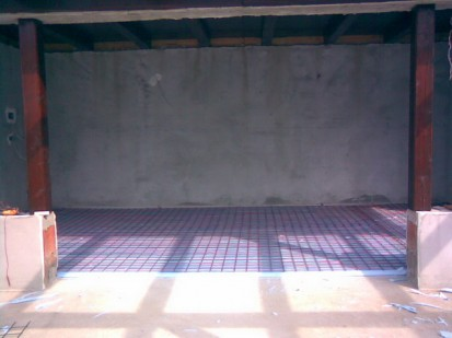 Incalzire prin pardoseala cu cabluri incalzitoare / Incalzire in pardoseala
