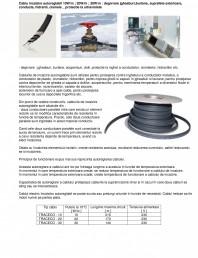 Cablu incalzitor autoreglabil pentru degivrare