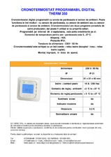 Cronotermostat digital programabil EBECO
