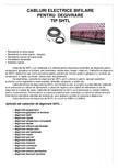 Cabluri electrice bifilare pentru degivrare I-WARM - SHTL
