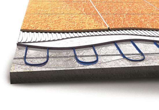 Incalzire  in pardoseala cu cabluri bifilare  EBECO
