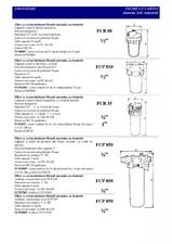 Filtre cu cartus pentru filtrarea mecanica NOBEL