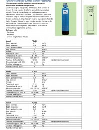 Filtre automate nisip cuartos recipient Fiberglass