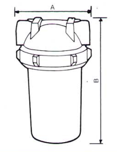 Filtre de apa pentru uz domestic / Filtru cu cartus FCP 010