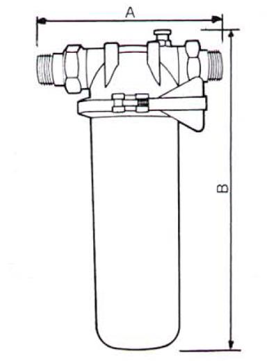 Filtre de apa pentru uz domestic / Filtru cu cartus FCP 050, 070
