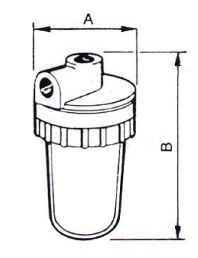 Filtre de apa pentru uz domestic / Filtru cu cartus FCR 08