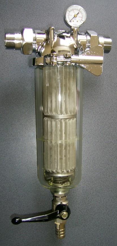 Filtre de apa pentru uz domestic / Filtre autocuratitoare cu cartus FTA 050, 070