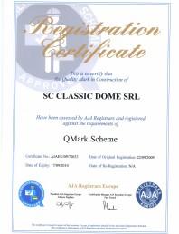 Certificat de calitate QMark