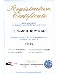 Certificat RS 2000
