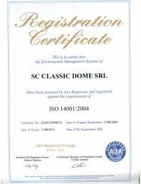 Certificat ISO 14001:2004