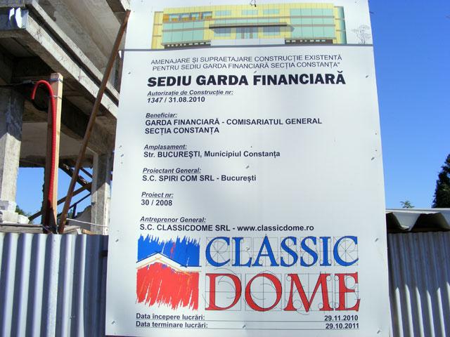 Birouri - Sediu Garda Financiara Constanta CLASSIC DOME - Poza 1