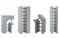 Cofraje termoizolante inglobate Cofrajele termoizolante AMVIC fabricate din Neopor sunt destinate tuturor structurilor care necesita o izolare termica si procesare facila.
