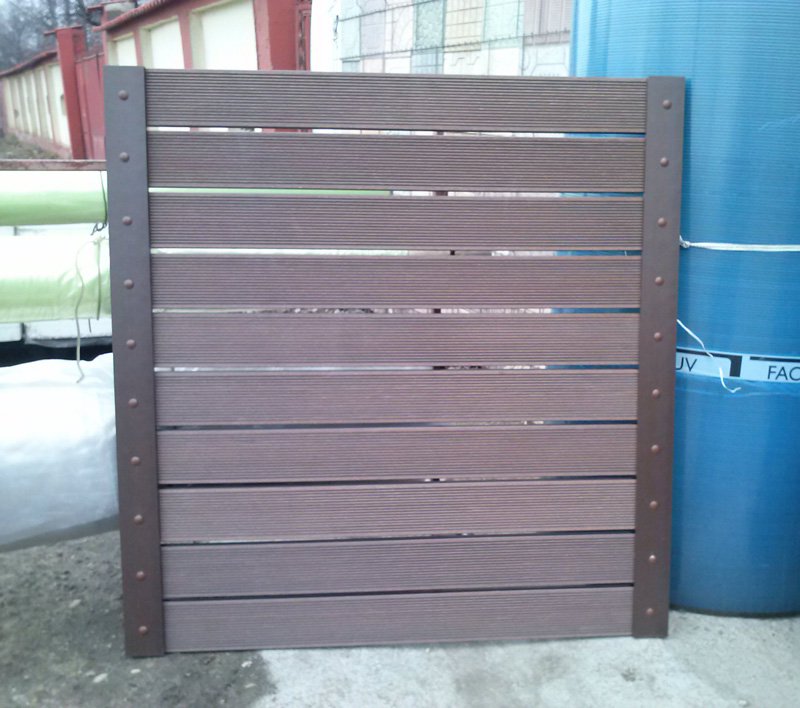 Garduri din material compozit WPC  - Poza 13