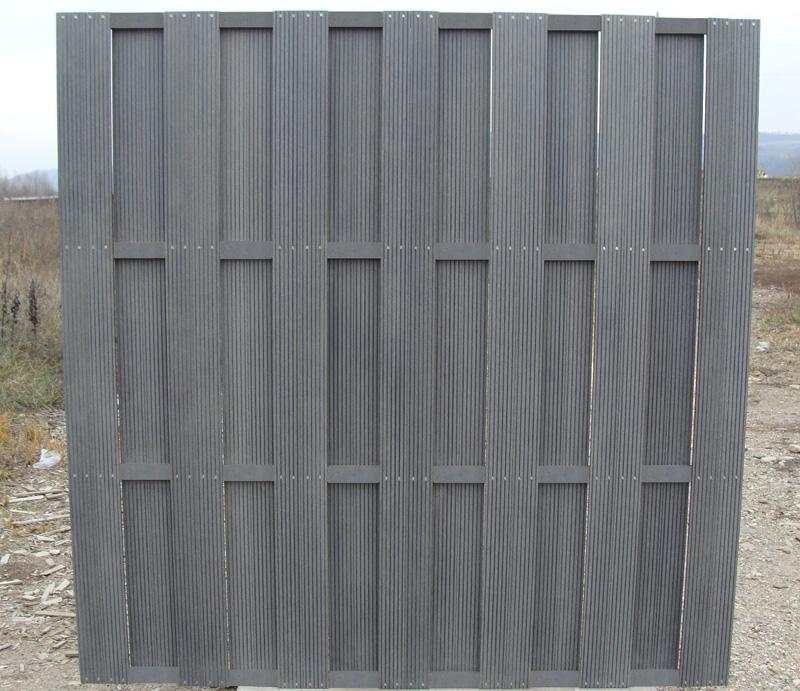 Garduri din material compozit WPC  - Poza 14