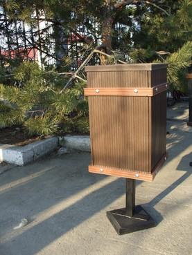 Lucrari de referinta Mobilier urban din material compozit WPC  - Poza 5