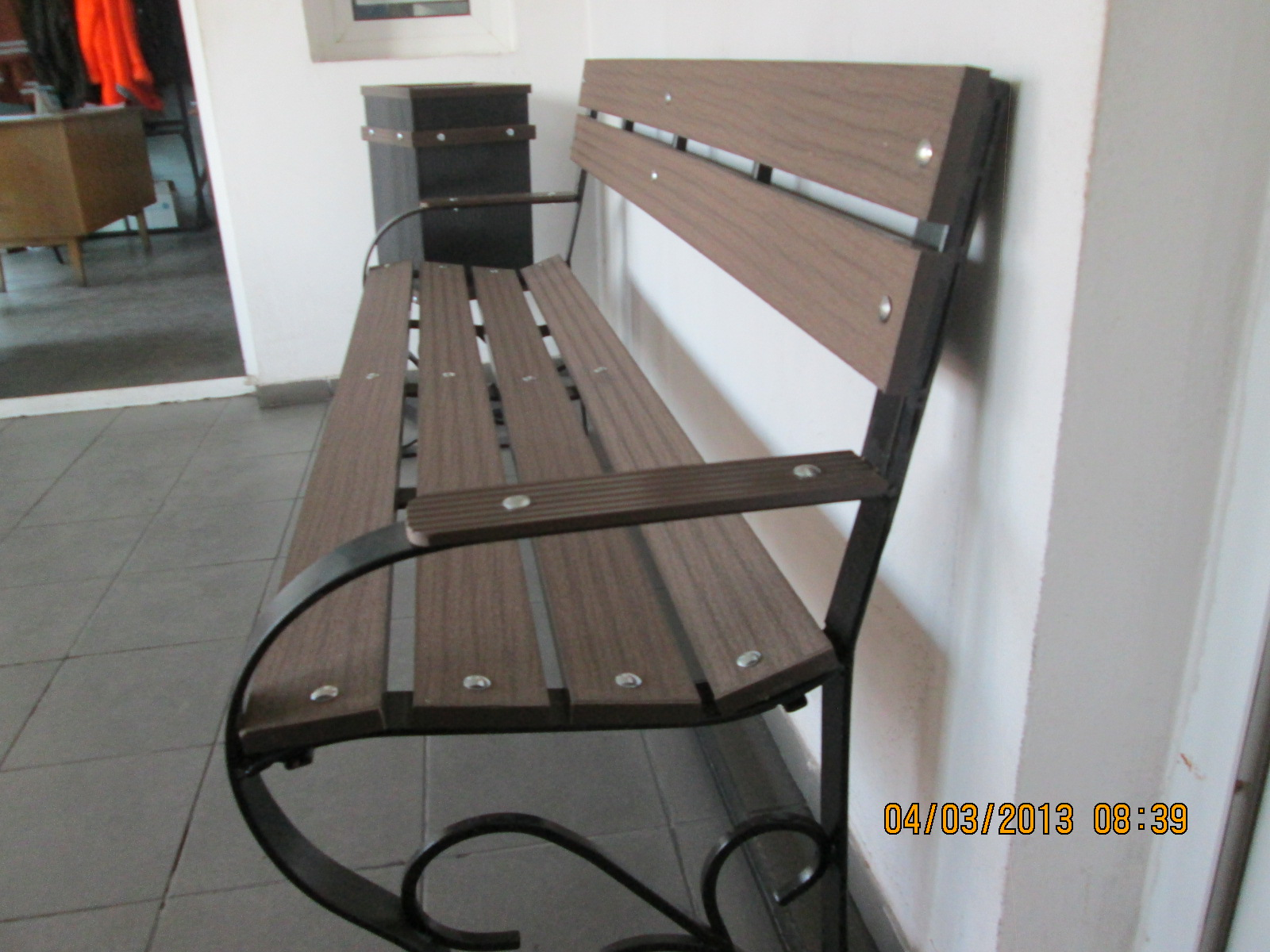 Mobilier urban din material compozit WPC  - Poza 12