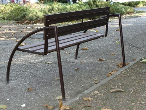 Exemple de utilizare Mobilier urban si de gradina din material compozit WPC BENCOMP - Poza 14
