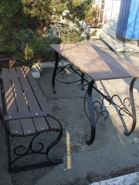 Exemple de utilizare Mobilier urban si de gradina din material compozit WPC BENCOMP - Poza 10