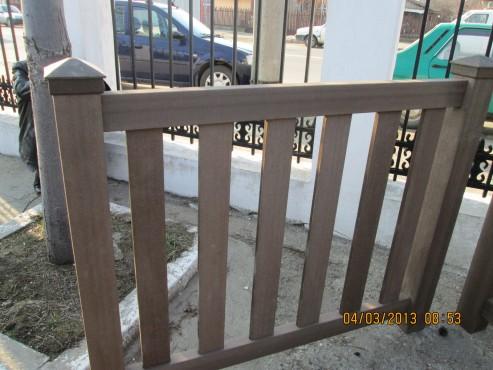 Exemple de utilizare Mobilier urban si de gradina din material compozit WPC BENCOMP - Poza 25