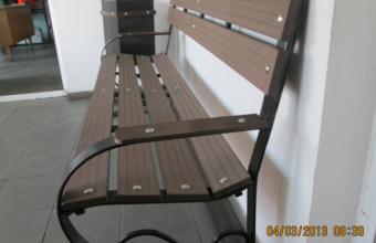 Mobilier urban si de gradina din lemn compozit WPC - Wood Polymer Composite