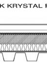 Sectiune acoperis cu panou fotovoltaic