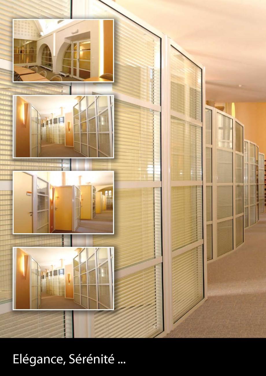 Pagina 20 - Pereti modulari din sticla, demontabili CLIPS Lucrari, proiecte Franceza