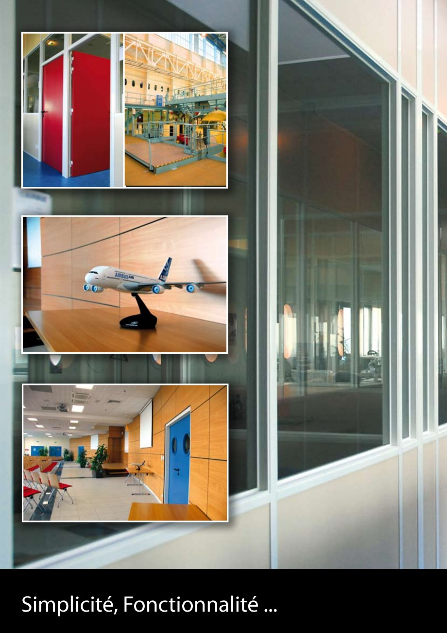 Pagina 38 - Pereti modulari din sticla, demontabili CLIPS Lucrari, proiecte Franceza