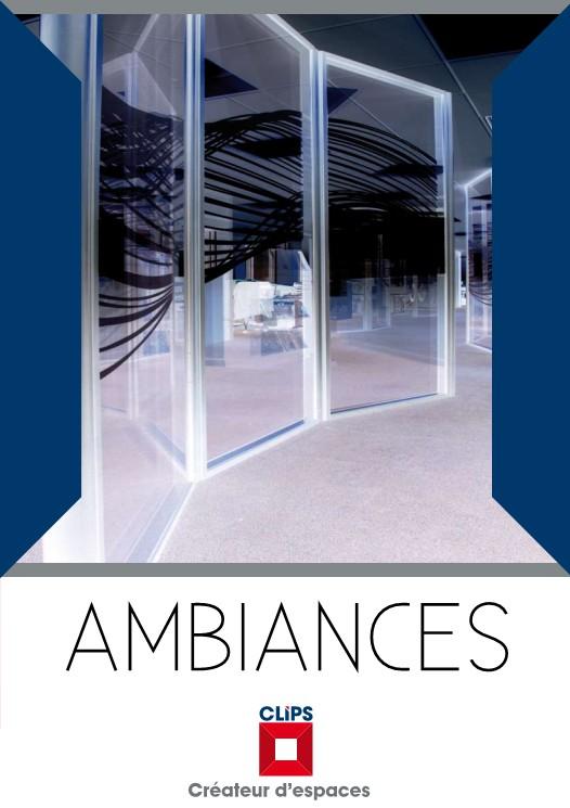 Pagina 1 - Pereti modulari din sticla, demontabili CLIPS Lucrari, proiecte Franceza AMBIANCES La...