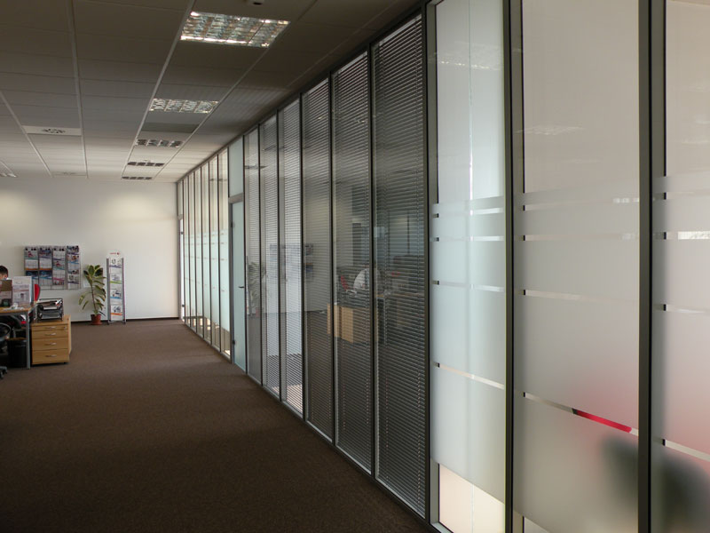 Pereti modulari din sticla, demontabili CLIPS - Poza 4
