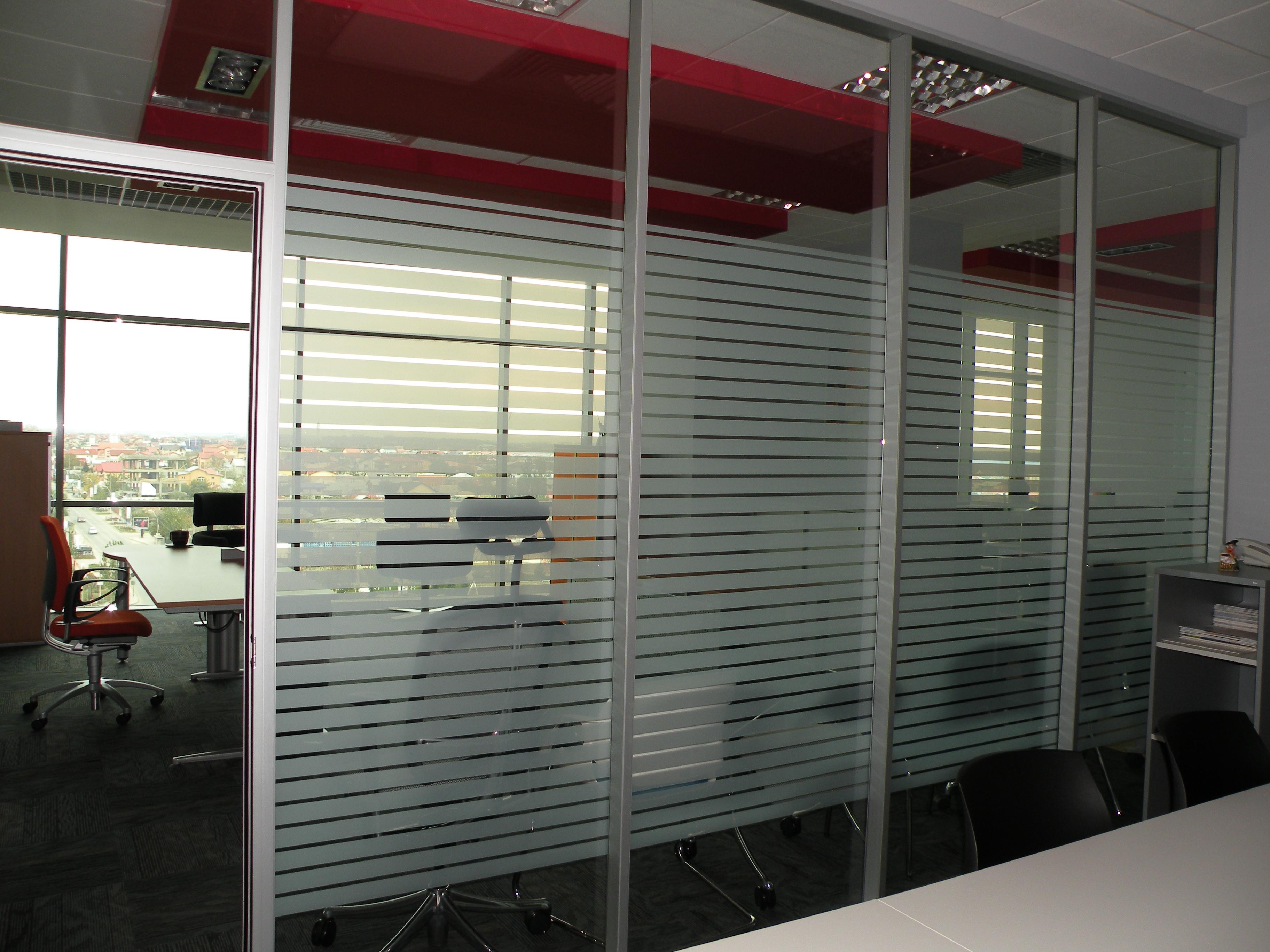 Pereti modulari din sticla, demontabili CLIPS - Poza 20