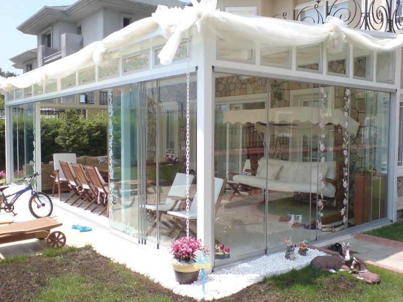 Sisteme de usi din sticla cu accesorii din aluminiu / inox si ferestre culisante GEAM BALCON - Poza 23