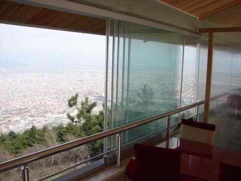 Sisteme de usi din sticla cu accesorii din aluminiu / inox si ferestre culisante GEAM BALCON - Poza 30