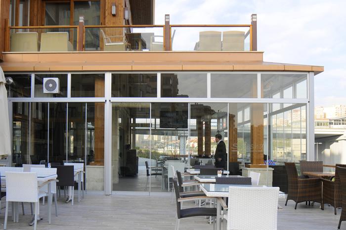 Sisteme de usi din sticla cu accesorii din aluminiu / inox si ferestre culisante GEAM BALCON - Poza 35