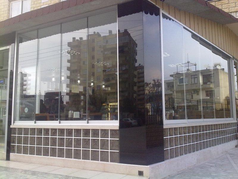 Sisteme de usi din sticla cu accesorii din aluminiu / inox si ferestre culisante GEAM BALCON - Poza 39