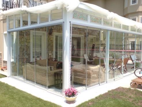 Sisteme de usi din sticla cu accesorii din aluminiu / inox si ferestre culisante GEAM BALCON - Poza 25