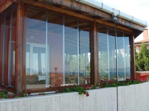 Sisteme de usi din sticla cu accesorii din aluminiu / inox si ferestre culisante GEAM BALCON - Poza 21